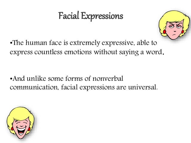 universal nonverbal communication