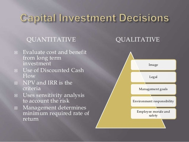 Investment decision qualitative factors in finance forexmart