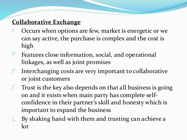 Promoting Cooperative Relationships The good business of a good seller needs to be a strategic provider, sellers need to, ...