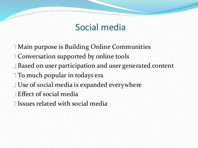 Social media and friendship Technology and Internet plays an important role Everyone is familiar with the media Change the...