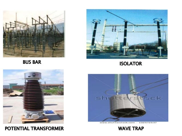 The Substation  ponents Study on electric circuit project