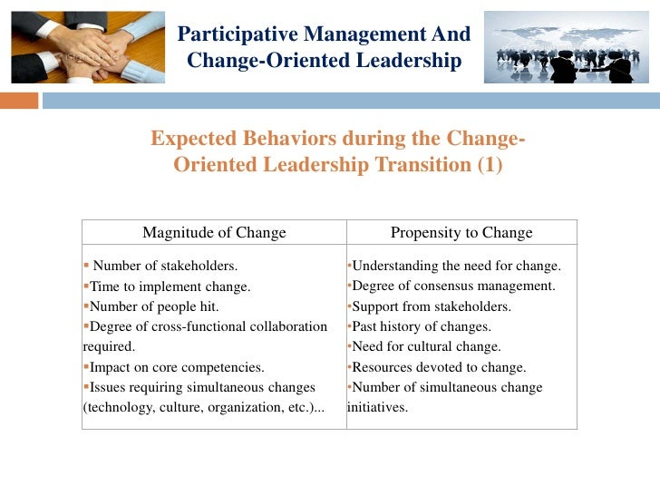 advantages and disadvantages of participative leadership style pdf