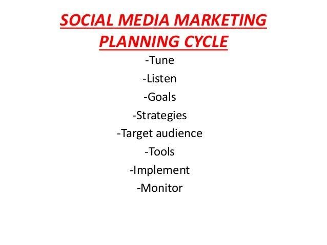 Social Media Marketing Planning Cycle - Best Market 2017