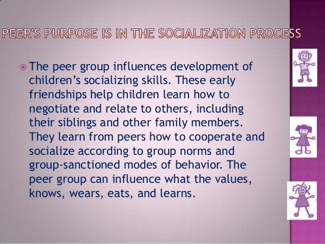 the influence of peer group to On the negative side, peer influence can lead to discipline problems and  high  school students' peer groups and explored the relationship between the values.