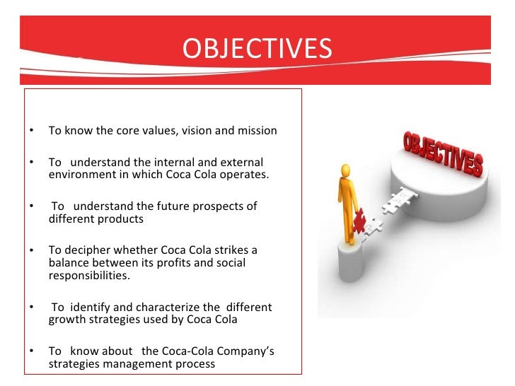 Operations management in Coca Cola: Applying the model