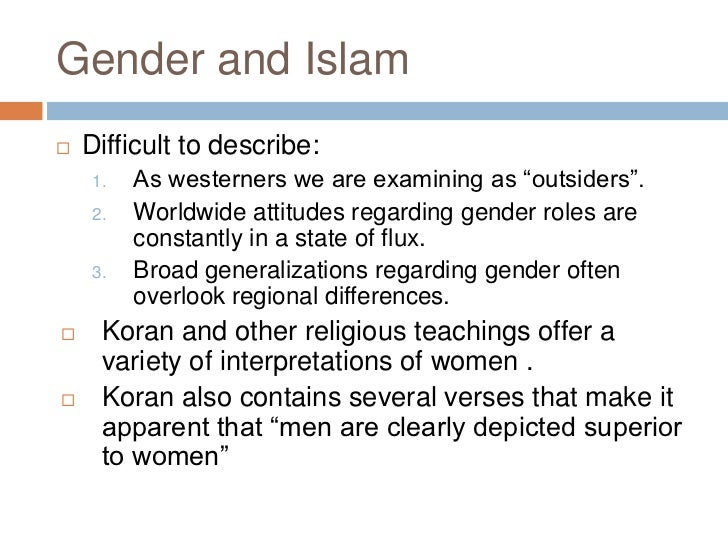 role of women in islamic religion and dating