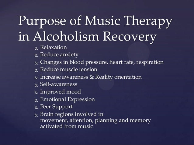 alcohol recovery music