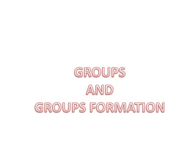 """Definition of Group Stephen P. Robins: """"two or more individuals, interacting and interdependent, who have come together to..."""