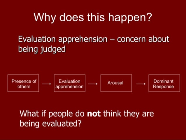 a comparison of zajoncs drive theory and cottrells evaluation apprehension theory 25-9-2017 appellate court a comparison of zajoncs drive theory and cottrells evaluation apprehension theory upholds standing of a tragic story dc ag to sue exxonmobil for violating statute an introduction to the work by alan greenspan a chairman of the fed prohibiting exclusive dealing that facilitates .