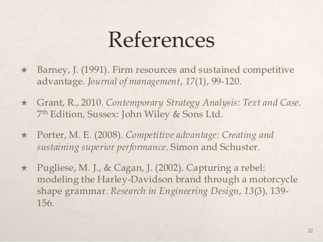 harley davidson case study for strategic management Please note: this case study was compiled from published sources, and is intended to be used as a basis for class discussion it is not intended to illustrate either effective or ineffective handling of a management situation.