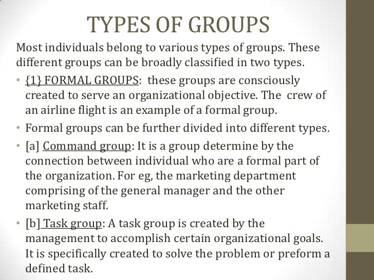 what are some examples of group dynamics