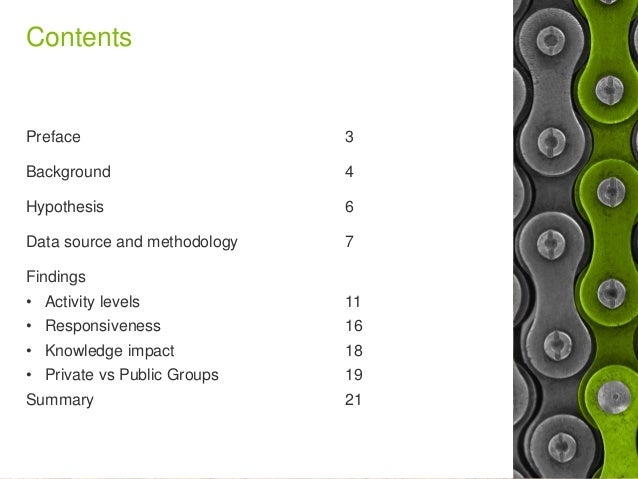 Yammer Groups and Business Value - Does size matter? Slide 2