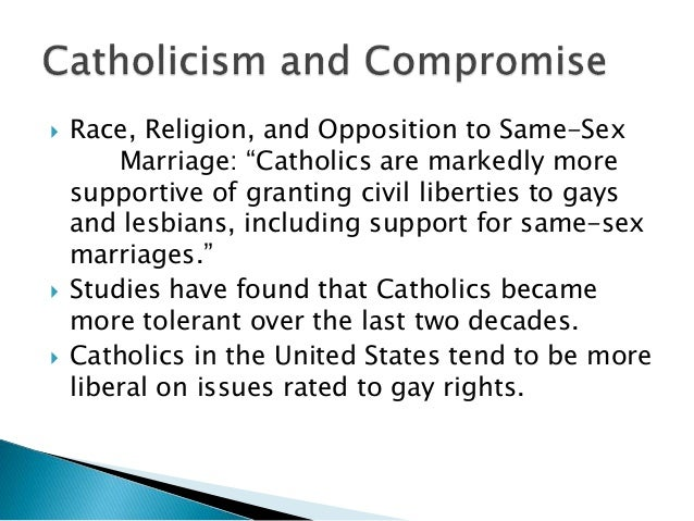 Newspaper article on homosexual marriage