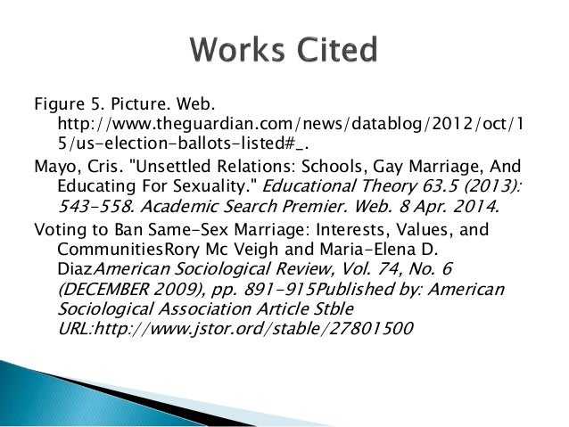 education for america with work cited essay