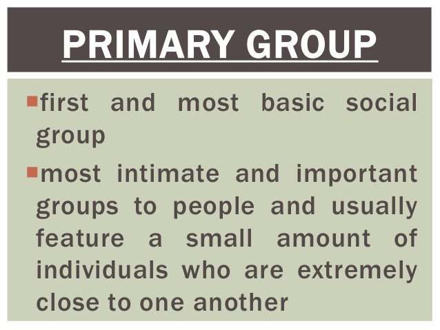 importance of social groups in society