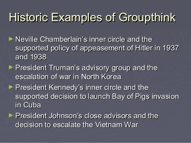 group think Groupthink: groupthink, mode of thinking in which individual members of small cohesive groups tend to accept a viewpoint or groupthink reduces the efficiency of collective.