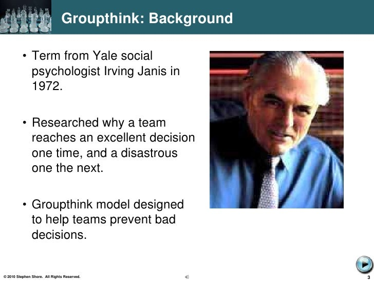 why is groupthink bad Social loafing: when groups are bad for productivity fighting groupthink with dissent group polarization: the trend to extreme decisions brainstorming reloaded why group norms kill creativity follow psyblog popular articles.