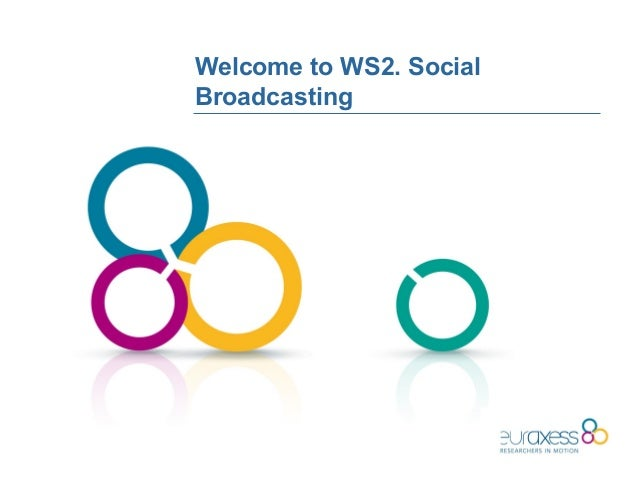 Welcome to WS2. SocialBroadcasting