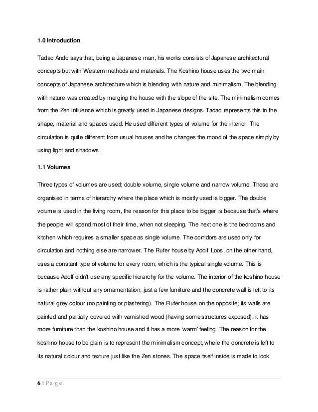 koshino house analysis essay  7