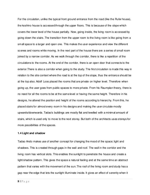 Essay on types of house