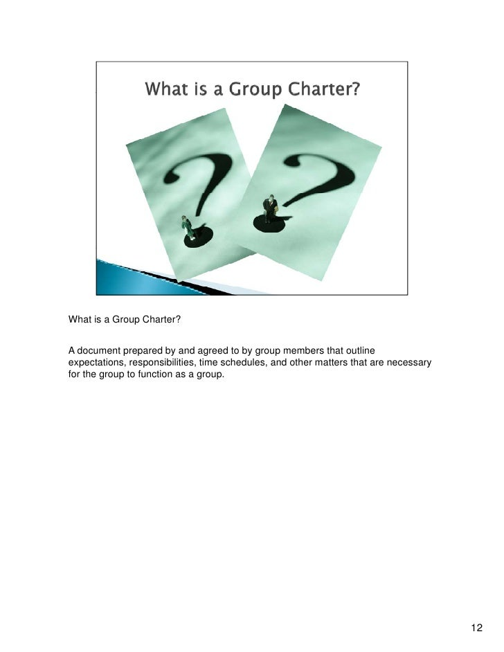 how to create a charter