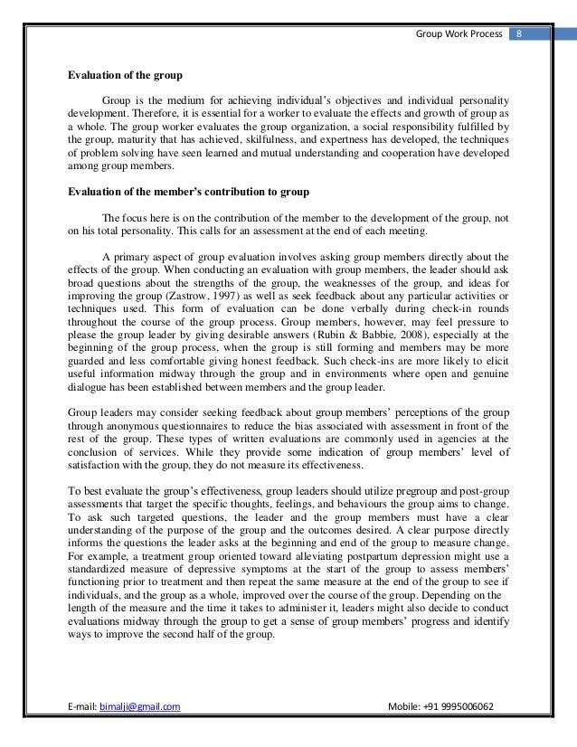 Essay On Group 85