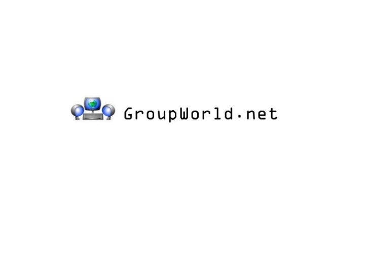 Groupworld.net is:• web conferencing/meeting software  • an interactive whiteboard  • a voice/video conferencing tool  • a...