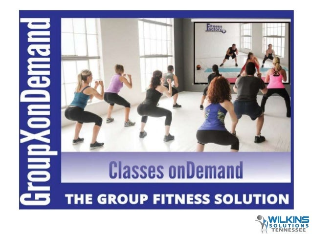 """Group X """"onDemand"""" Fitness Class System"""