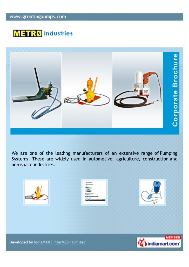 We are one of the leading manufacturers of an extensive range of PumpingSystems. These are widely used in automotive, agri...