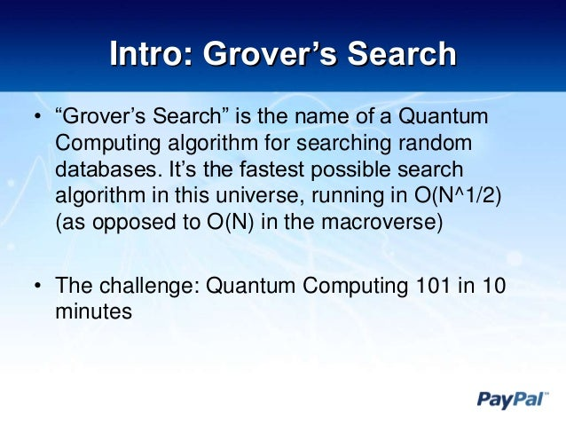 Grover's Algorithm - YouTube