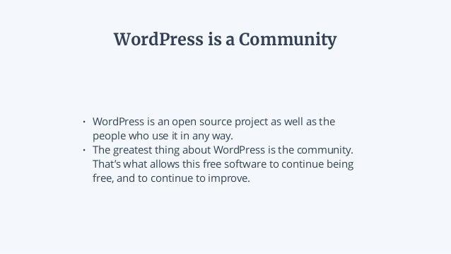 Growing a Local WordPress Community Slide 3