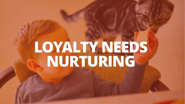 LOYALTY NEEDS NURTURING
