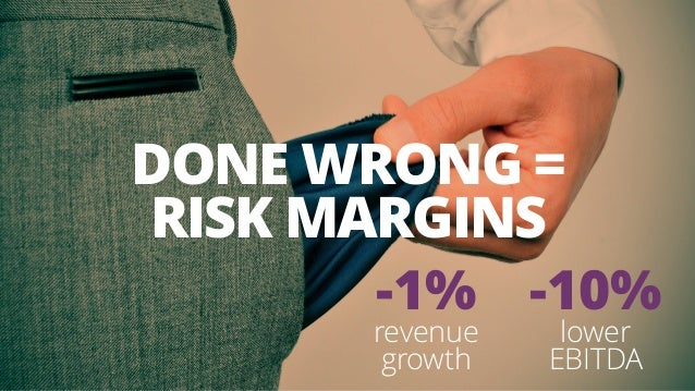 -1% revenue growth DONE WRONG =