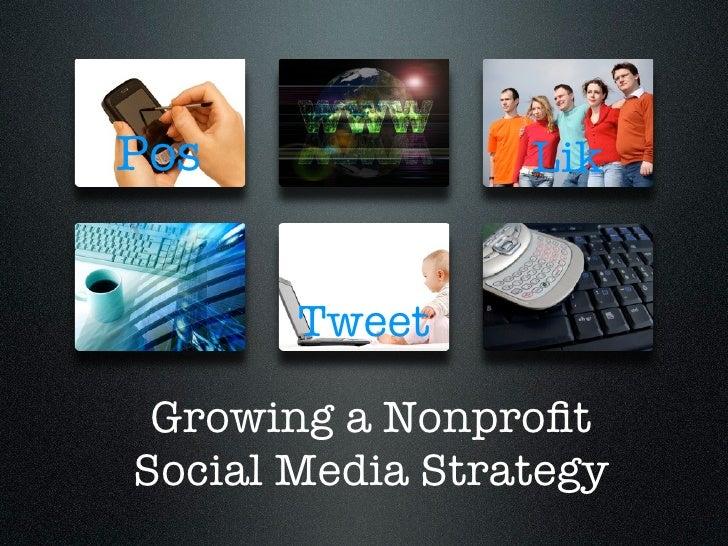 Pos              Lik         Tex       Tweet Growing a NonprofitSocial Media Strategy