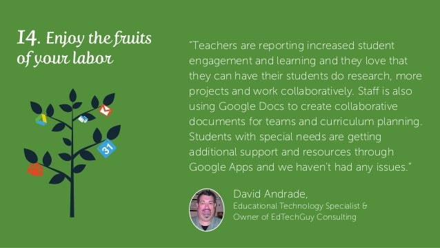 """14. Enjoy the fruits of your labor """"Teachers are reporting increased student engagement and learning and they love that th..."""