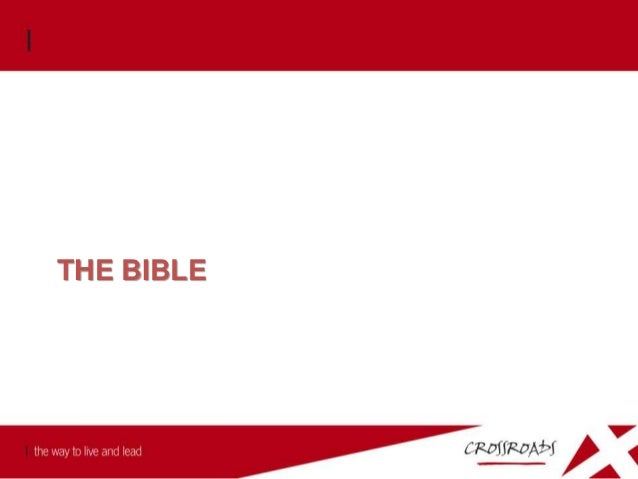 The Bible 1. The Bible is the Word of God and contains the very words of God. 2 Timothy 3:16-17 All Scripture is God- brea...