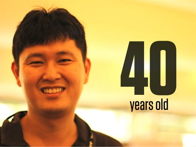 50years old
