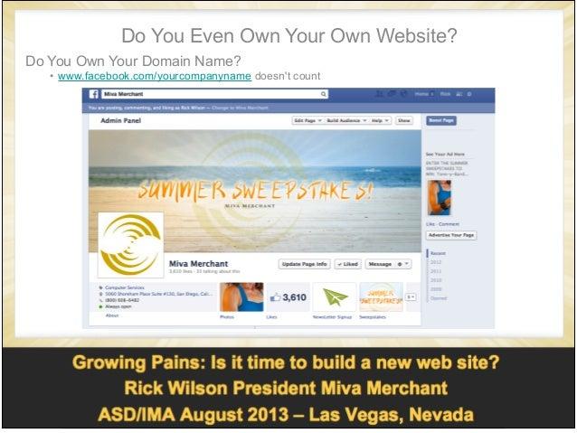 build an ecommerce web site