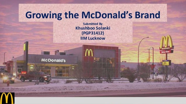 strategic goals of mcdonalds 22 strategic implementation 221 new product development based on the conclusion that the company would pursue a differentiation competitive strategy and also a product development growth m.