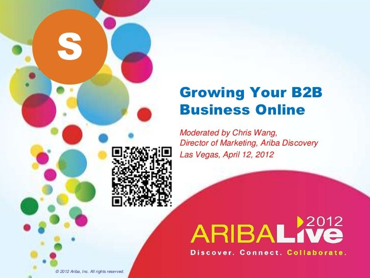 S                                          Growing Your B2B                                          Business Online      ...