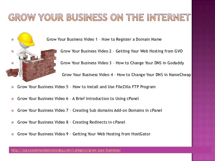 Growing your business webhosting-space Slide 3