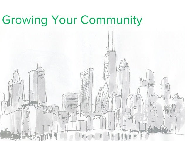 Growing Your Community