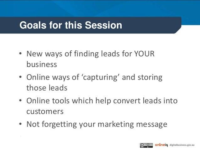 Growing your customer list Slide 2