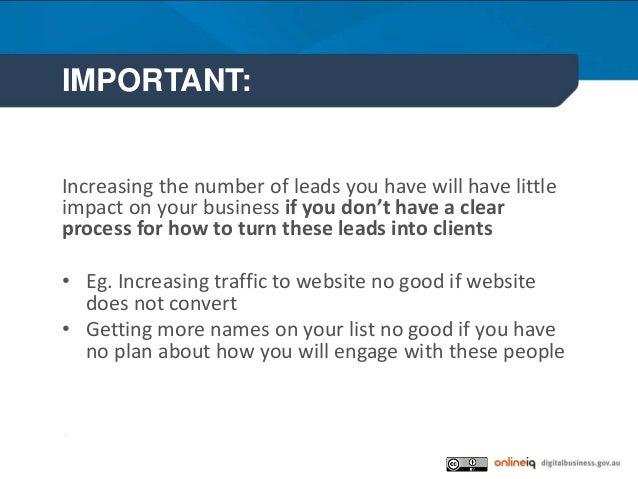 Growing your customer list Slide 3