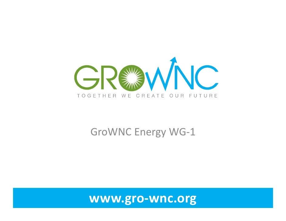 GroWNCEnergyWG‐1www.gro‐wnc.org