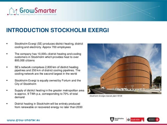 Open District Heating -Traditional consumers turn into suppliers_stockholm exergi Slide 2