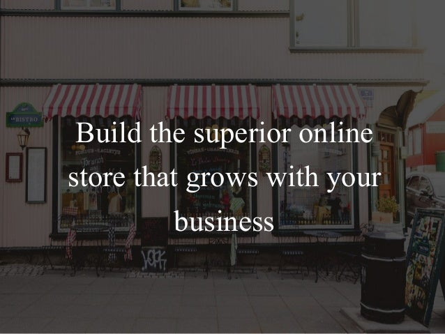 Grows your business with big commerce Slide 2