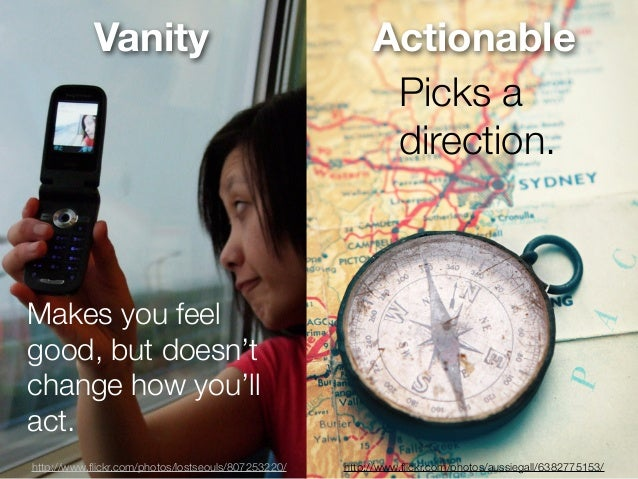 Vanity                                       Actionable                                                          Picks a  ...