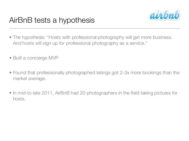 """AirBnB tests a hypothesis• The hypothesis: """"Hosts with professional photography will get more business.  And hosts will si..."""