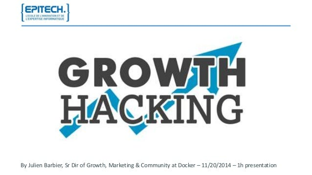 By Julien Barbier, Sr Dir of Growth, Marketing & Community at Docker – 11/20/2014 – 1h presentation